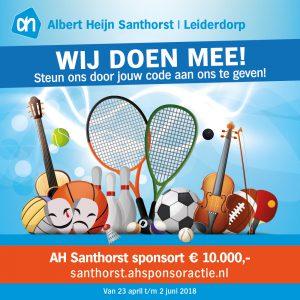 Sponsoractie Abert Heijn Santhorst