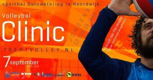 Jongens 12 tot 18 jaar - Clinic Yannick van Harskamp @ Sporthal Duinwetering in Noordwijk